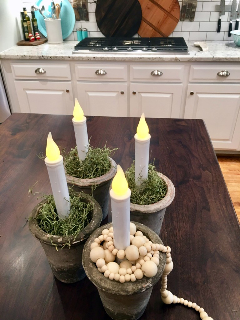 Easy Christmas Candles