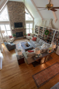 Rustic Chic Den Makeover