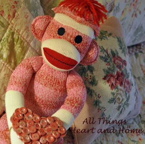 Sock-Monkey-with-Button-Hea