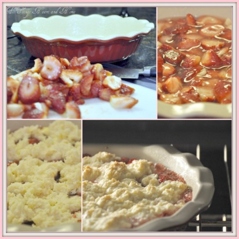 Strawberry Cobbler Mosaic