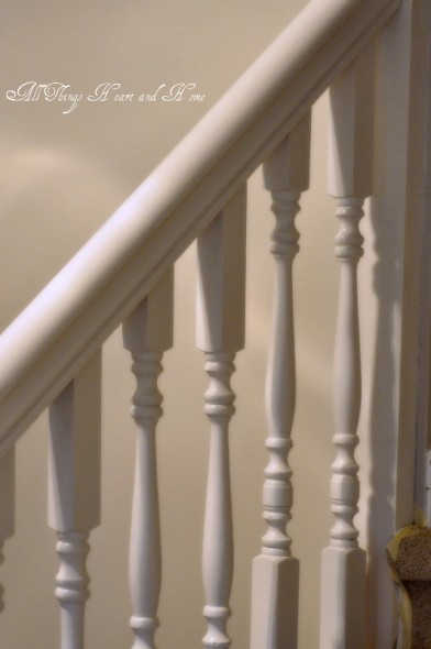 Painted stairrail