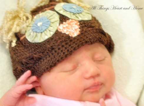 owl baby hat all things heart and home