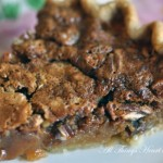 Buttterscotch Pecan Pie