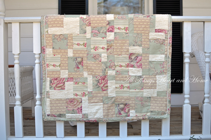 Disappearing 9 Patch Quilt Block Tutorial All Things