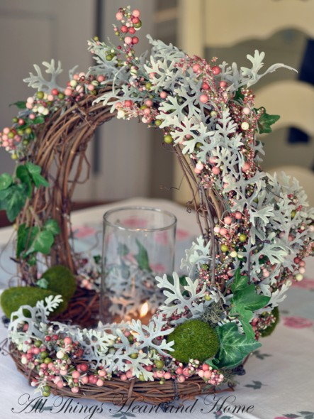 Woodland basket easter centerpiece all things heart
