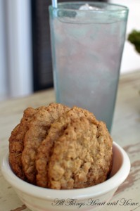 thin & crispy oatmeal cookies