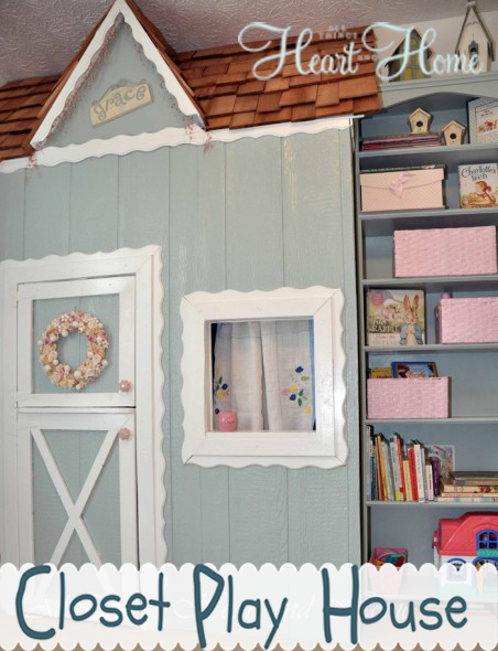 closet playhouse