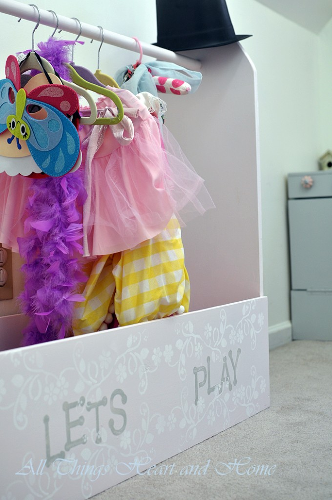 Diy Dress Up Storage Box All Things Heart And Home