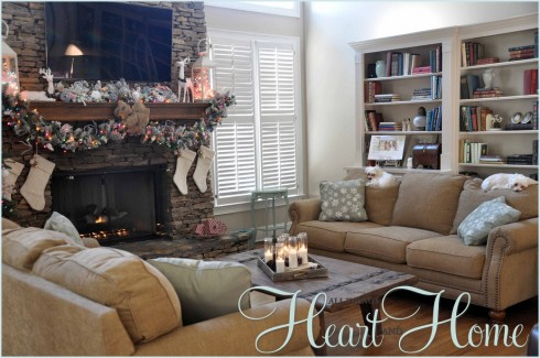 Christmas in the Den - All Things Heart and Home