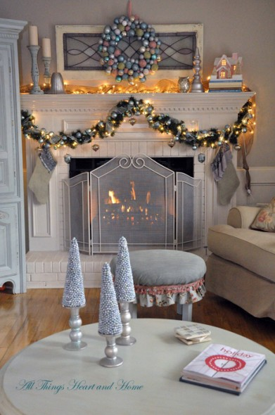 shabby chic christmas decorations. Save