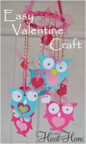 Valentine S Day Kid S Craft All Things Heart And Home