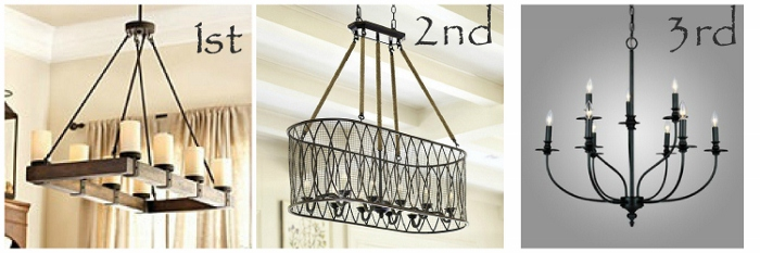Lighting Above Kitchen Table | Lighting Over The Farmhouse Table The Winner All Things Heart And