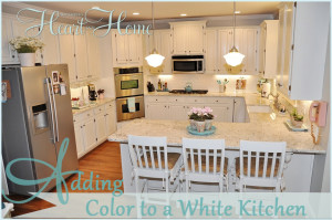 adding color to a white kitchen adding color to a white kitchen all things and home 9003