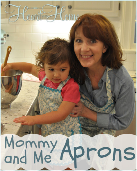 mommy and me aprons 1