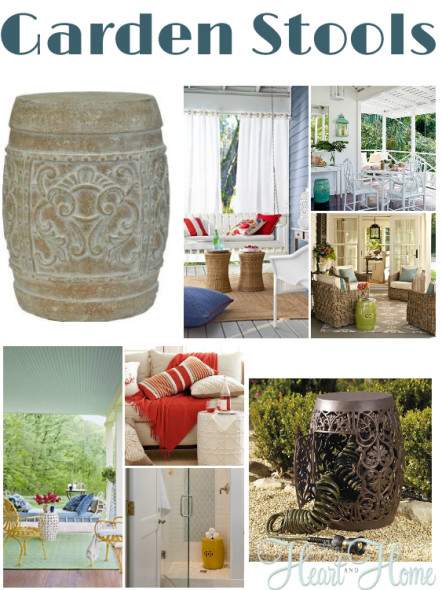 What I M Loving Garden Stools All Things Heart And Home