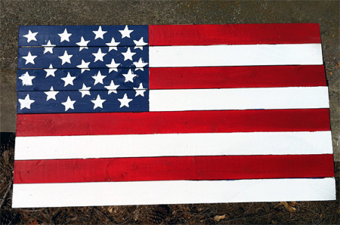 flag from lumber home depot