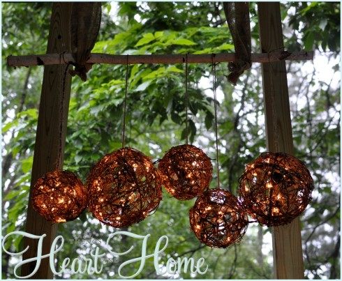 grapevine orb diy light