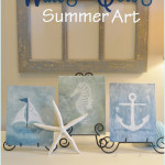 Easy WaterColor Summer Art