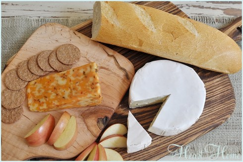 DIY Bread and Cheese Boards
