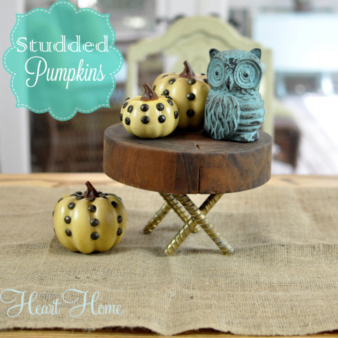 studded pumpkin