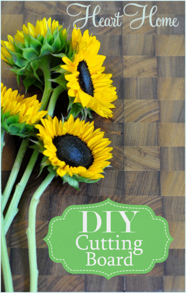 diy end grain cutting board