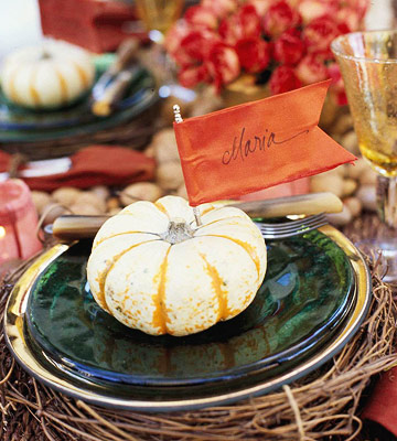 easy thanksgiving tables