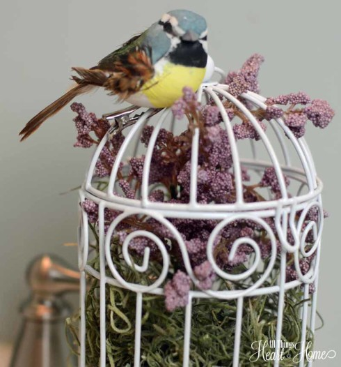 Bird Cage Craft for Spring! - All Things Heart and Home