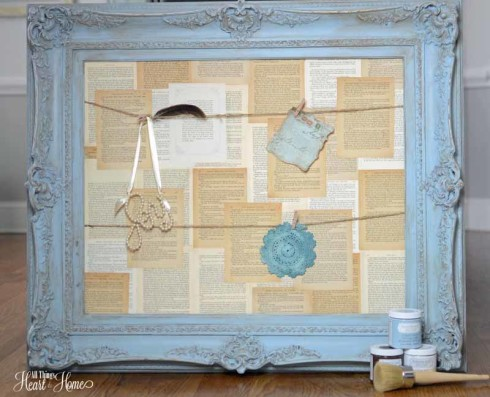 Decoart Chalky Paint inspiration Board