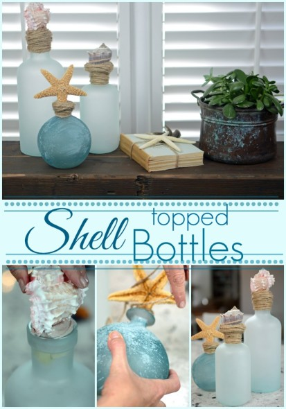 Shell Topped Bottles