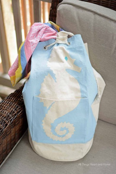 Easy Chalky Finish Farmers Market Bag