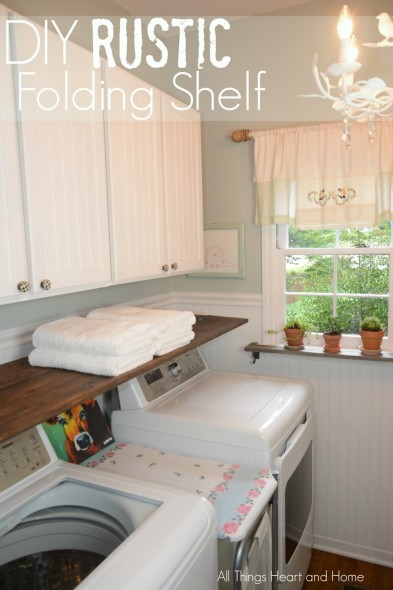 DIY-Rustic-Folding-Shelf