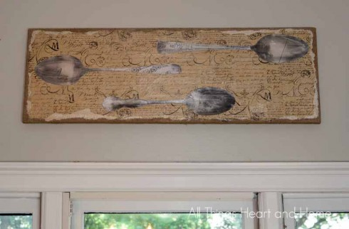 DIY-Vintage-Silverware-Wall-Art-