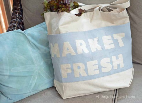 Chalky Finish Paint Bag