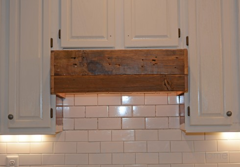 Easy DIY Range Hood - All Things Heart and Home