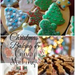 christmas baking and candy making