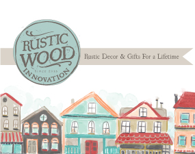 Rustic Wood Innovation Logo