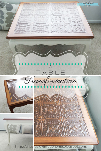 A Table Transformation Anastasia Vintage