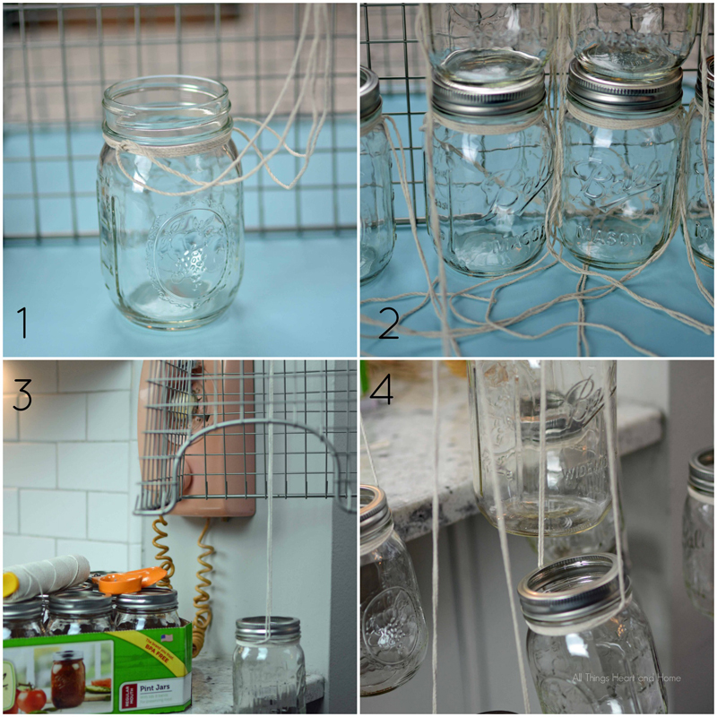 Diy Mason Jar Chandelier 2 All Things Heart And Home