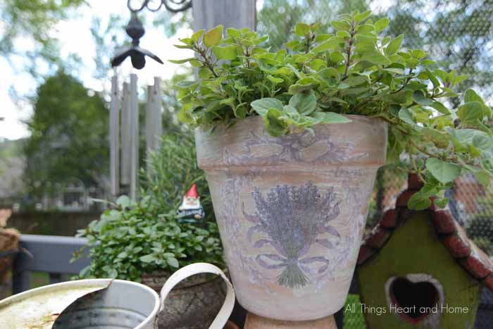 All Things Heart and Home & French Inspired Flower Pots - All Things Heart and Home