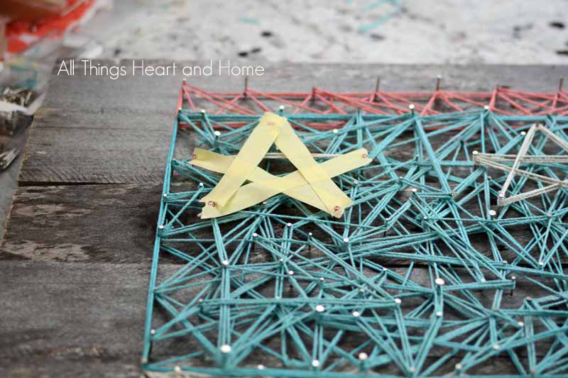 String Art Flag