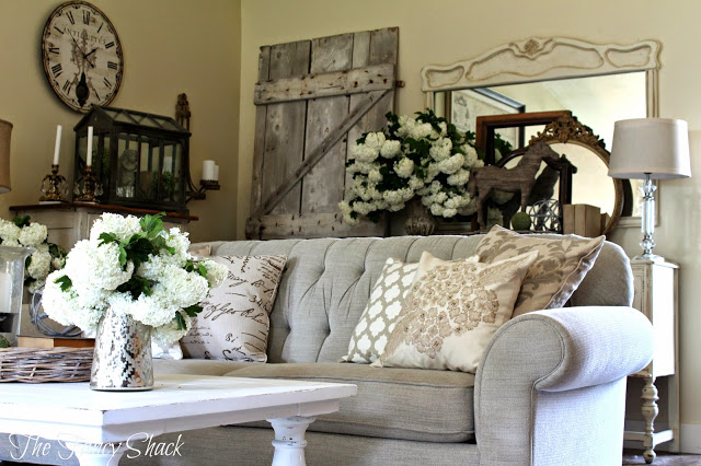 Shanja At Shabby Chic And I Created A Charming Sitting Area In Her Garden