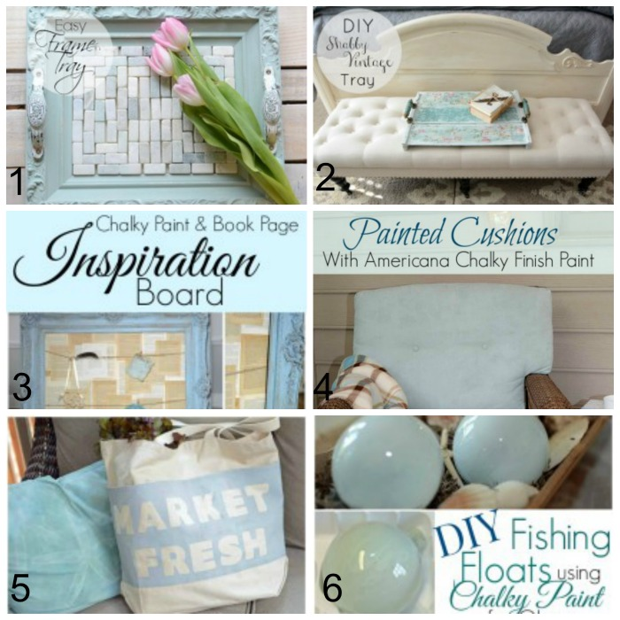 chalky finish projects