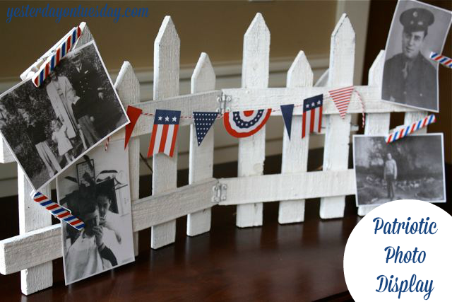 Patriotic-Photo-Display