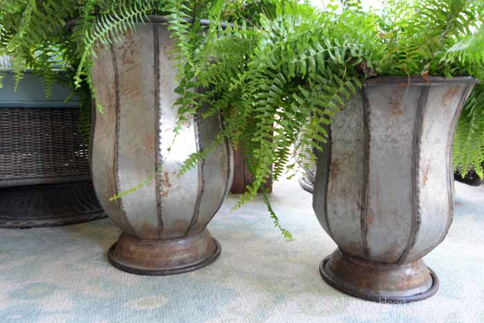 summer porch decorating with Birch Lane