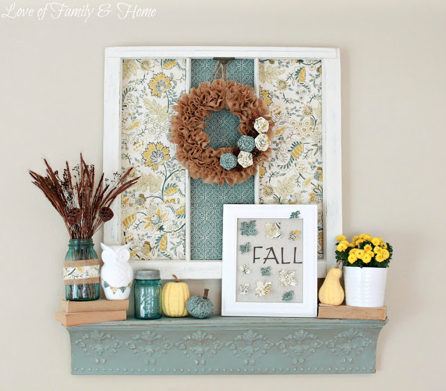 Blue & Yellow Fall Mantel 067 edited 2