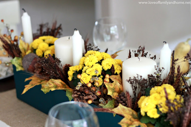 Teal & Yellow Fall Tablescape 081 edited