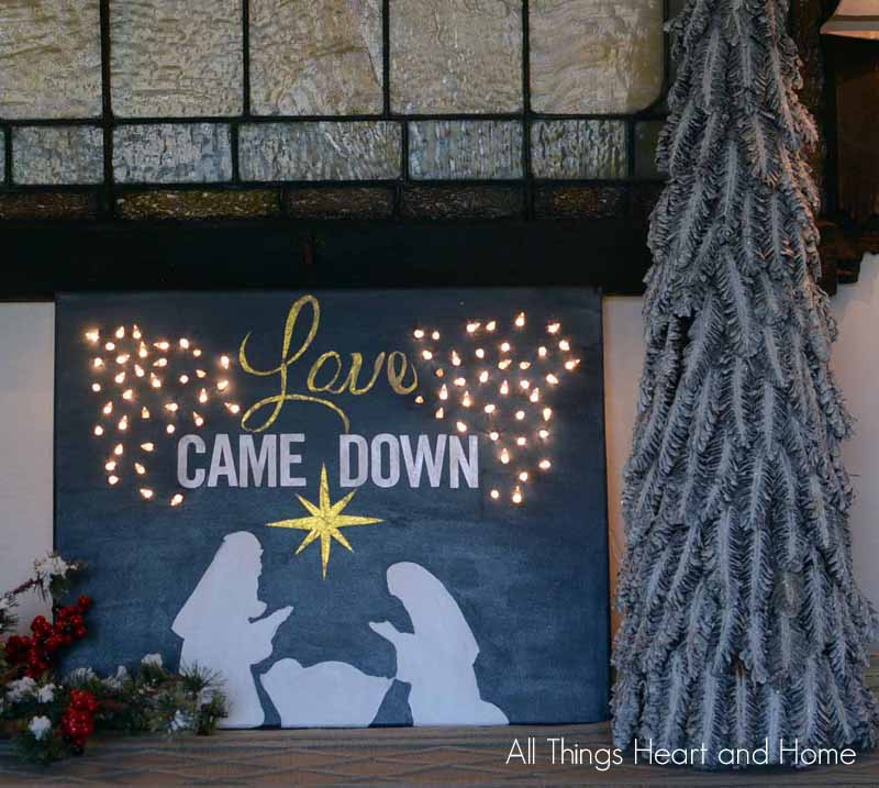 Lighted-Christmas-Canvas