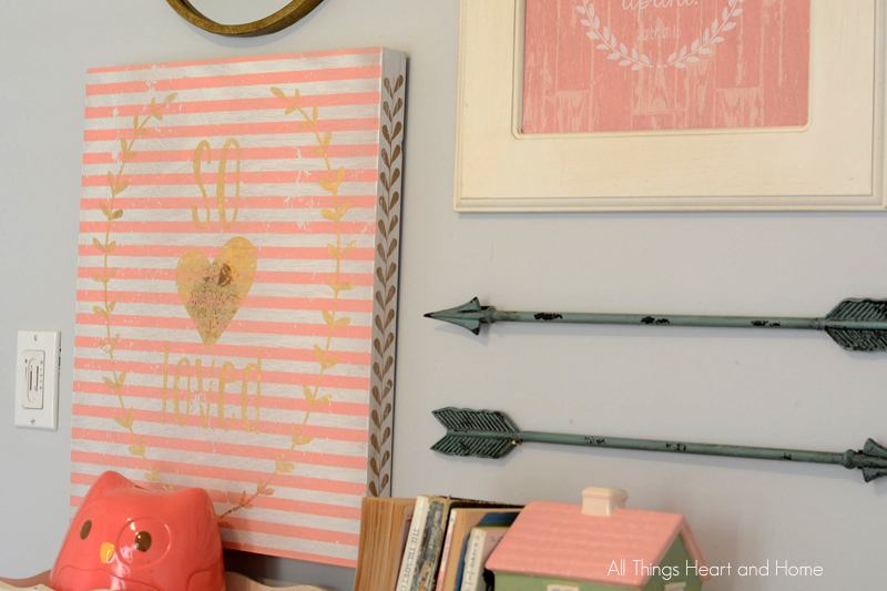 little girl's room makeover