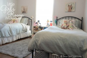 little girls room makeover