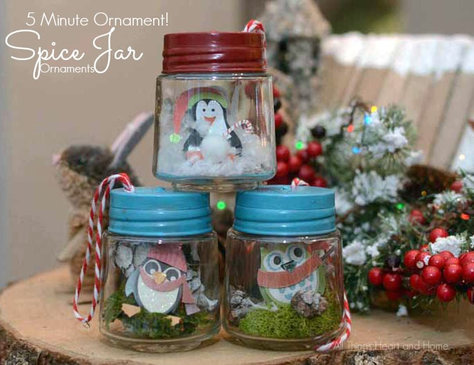 Tiny Jar Christmas Ornament 5 Minutes All Things Heart And Home